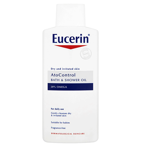 Eucerin Bath And Shower Oil